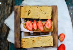 Blondie-Strawberry-Icecream-Sandwich. Foto: Maike Klose