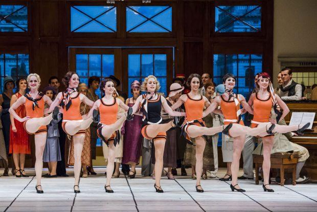"""Palast-Revue """"Capriolen"""". Foto: Kirsten Nijhof"""