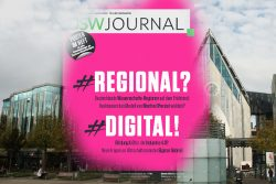Das neue DSW Journal beschäftigt sich mit regionaler Vernetzung von Hochschulen. Montage: L-IZ
