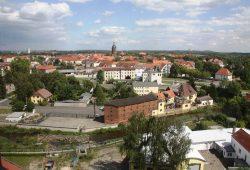 """Blick von der Pension """"Heinzelberge"""" über die Stadt Eilenburg. Foto: Stadt Eilenburg"""