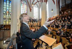 Eröffnung Bachfest Leipzig 2016: Thomaskantor Gotthold Schwarz dirigiert in der Thomaskirche. Foto:: Bachfest Leipzig/Jens Schlüter
