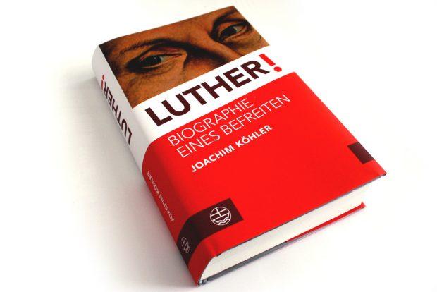 Joachim Köhler: Luther! Foto: Ralf Julke