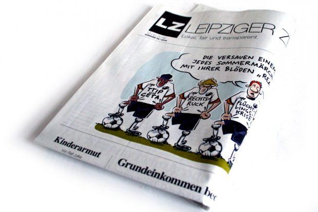 Leipziger Zeitung Nr. 32: Von wegen, Sommermärchen. Foto: Ralf Julke