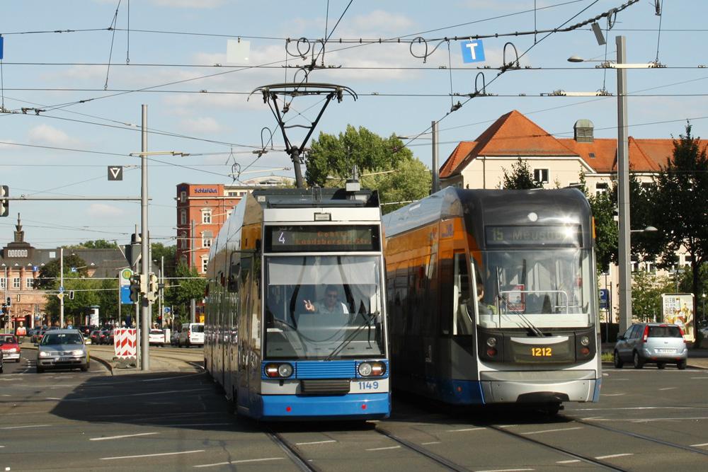 Victory auf dem Augustusplatz. Foto: Ralf Julke
