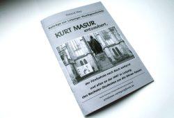Roland Mey: Kurt Masur entzaubert ... Foto: Ralf Julke