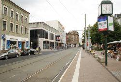 Nordseite des Lindenauer Marktes. Foto: Ralf Julke