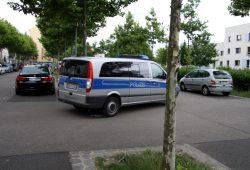 Verstärkte Polizeistreifen am Rabet an der Eisenbahnstraße. Foto: L-IZ.de