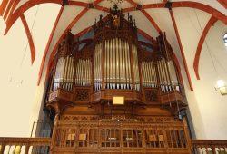 Sauer-Orgel der Thomaskirche. Foto: Thomaskirche