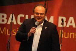 Schirmherr Martin Petzold eröffnete die BachSpiele. Foto: naTo