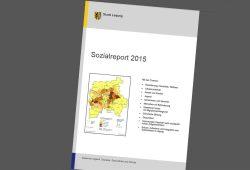 Sozialreport 2015. Cover: Stadt Leipzig