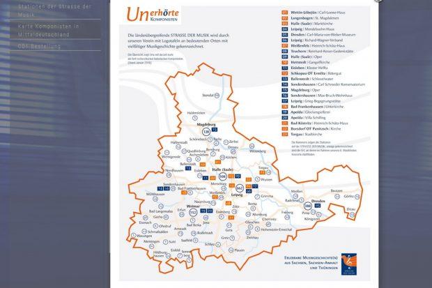 """Karte der """"Straße der Musik"""". Screenshot; L-IZ"""