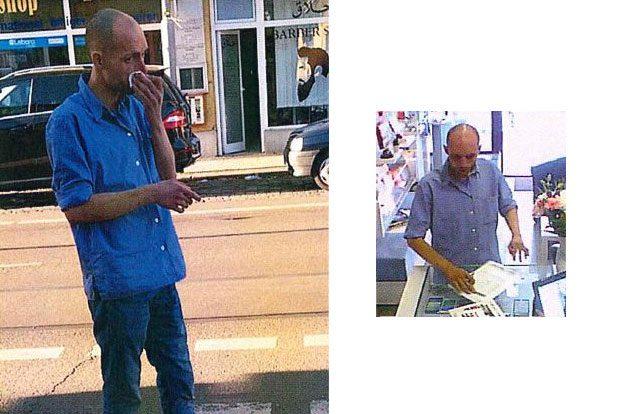 Wer kennt den Mann? Foto: PD Leipzig
