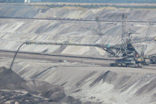 Der Tagebau in Deutzen. Foto: Matthias Weidemann