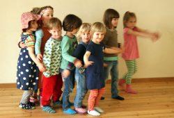 Die kleinen TheaterKnirpse. Foto: KAOS