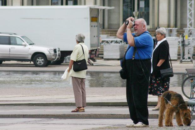 Zu Fotografieren gibt es in Leipzig immer was. Foto: Ralf Julke