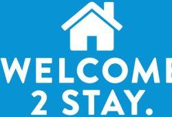 Flüchtende sollen kommen und bleiben dürfen. Screenshot: welcome2stay.org