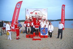Sieger Mixed-Team. Foto: DRK LV Sachsen e.V.