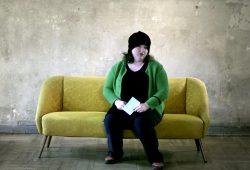 Anna Mateur ist in diesem Jahr die Markenbotschafterin für den Designpreis. Foto: Textwerkstatt Dresden
