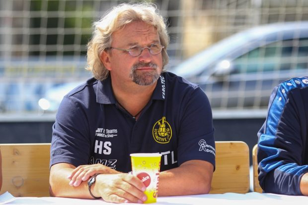 """Lok-Trainer Heiko Scholz: """"Wir wollen diese Saison genießen"""". Foto: Jan Kaefer"""