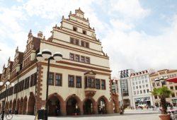 Nordseite des Alten Rathauses in Leipzig. Foto: Ralf Julke