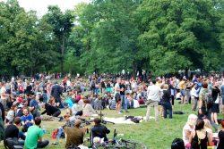 Ausklingen 2014 im Külz-Park. Foto: L-IZ.de
