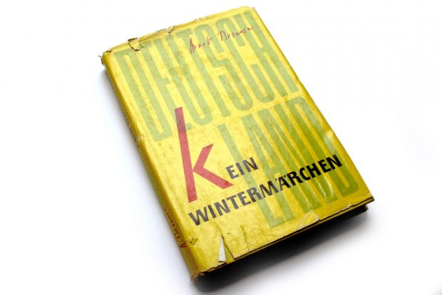Arnolt Bronnen: Deutschland. Kein Wintermärchen. Foto: Ralf Julke