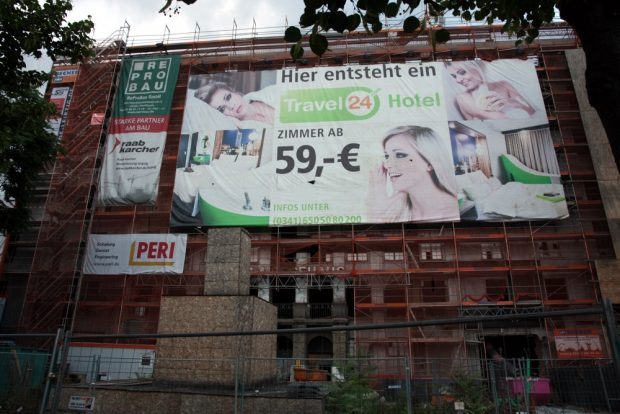 Das Alte Ringmessehaus soll noch 2016 zum Hotel werden. Foto: L-IZ.de
