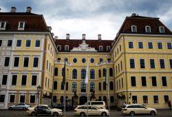 Das Taschenbergpalais in Dresden. 2016 Herberge für ein privates Treffen. Foto: Mirko Boll