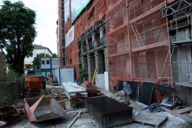 Die Baustelle am Sonntag 17. Juli. Foto: L-IZ.de
