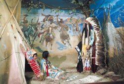 "Diorama ""Indianer Nordamerikas"". Foto: Karl-May-Museum Radebeul, Dietmar Berthold, 2002"
