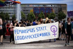 Protest gegen LEGIDA. Foto: Alexander Böhm