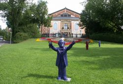 Das Festspielhaus auf dem Grünen Hügel (Archivbild). Foto: Karsten Pietsch
