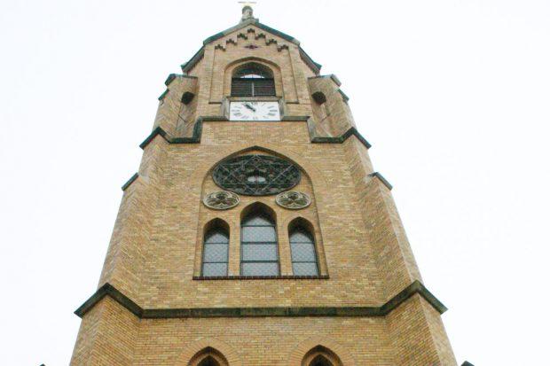 Friedenskirche in Gohlis. Foto: Ralf Julke
