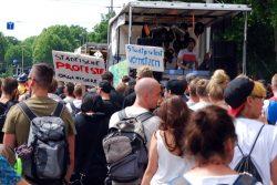 Stadtprotest. Foto: L-IZ.de