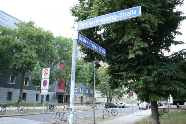 Die Gustav-Freytag-Straße in Connewitz. Foto: Ralf Julke