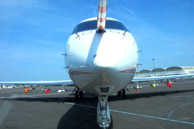 Das moderne Höhen-Forschungsflugzeug HALO. Foto: Prof. Dr. Manfred Wendisch/LIM Universität Leipzig