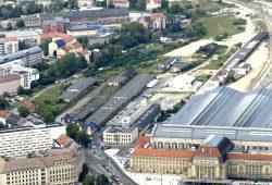 Von der Stadt nicht gekauft: Areal auf der Westseite des Hauptbahnhofs. Foto: Matthias Weidemann