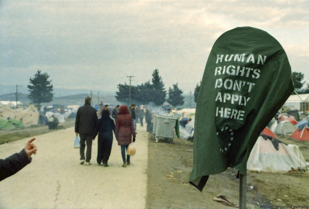 Im Auffanglager Idomeni. Foto: Maximilian Schulz