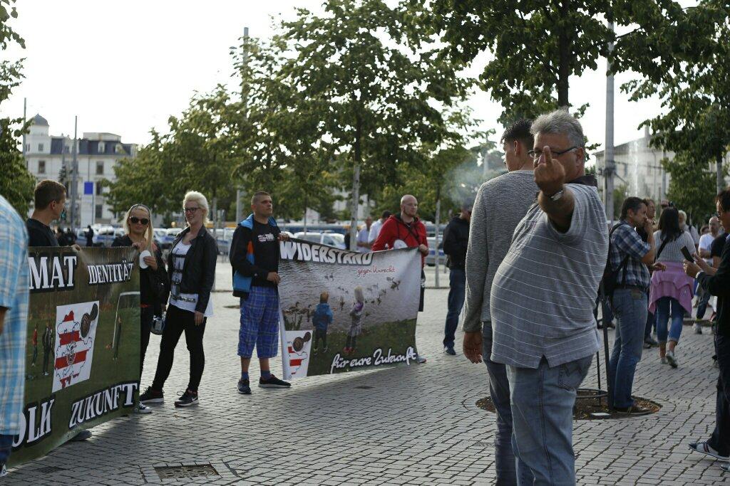 Der Hass rund um Legida schaukelt sich weiter hoch. Foto: L-IZ.de