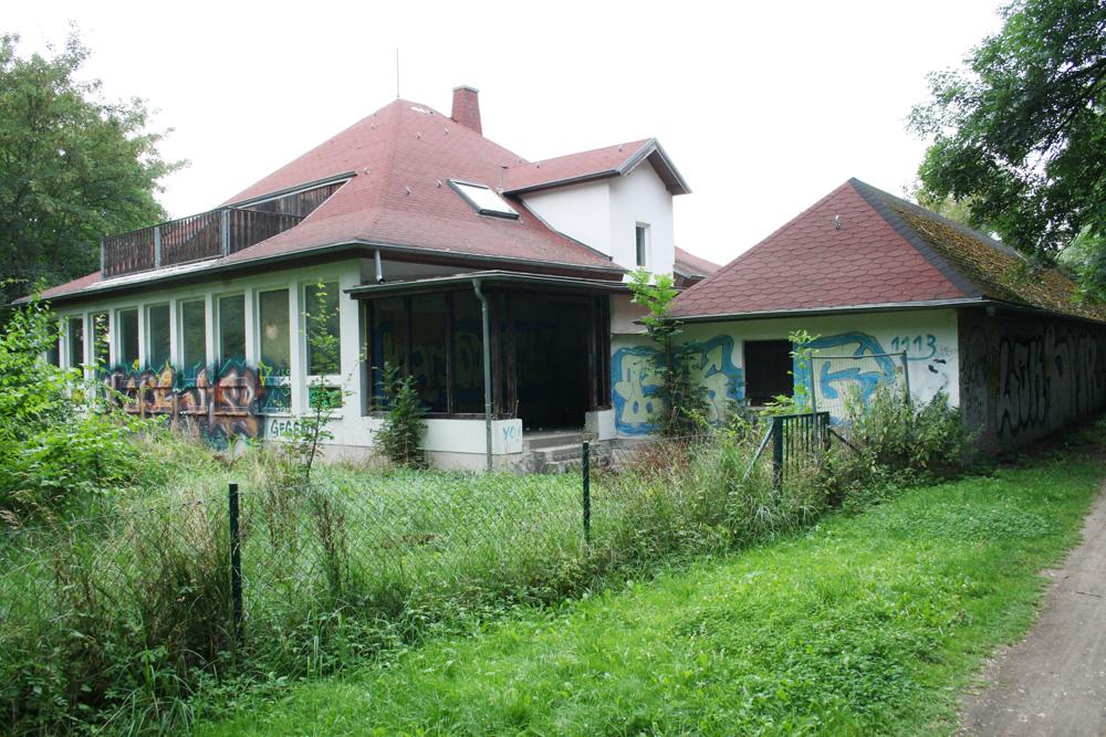 Die einstige Jugendherberge am Auensee. Foto: Ralf Julke