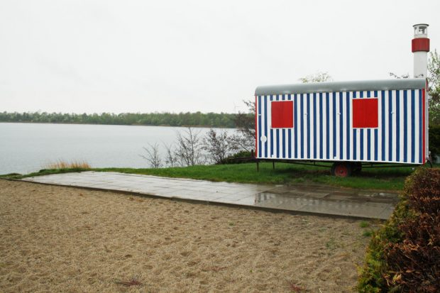 Am Ostufer des Kulkwitzer Sees. Foto: Ralf Julke