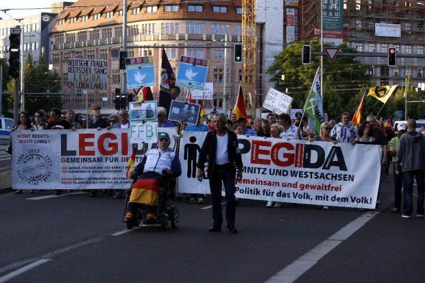 Am 4. Juli 2016 war es während der Demonstrationen rings um Legida friedlich geblieben. Foto: L-IZ.de