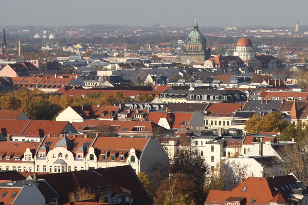 In Leipzig sind tausende neuer Bürojobs entstanden. Foto: Matthias Weidemann