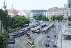 LVB-Haltestelle Hauptbahnhof. Foto: Ralf Julke