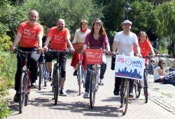 Notenspur-Verein und ADFC laden ein zur Notenrad-Regertour. Foto: Elke Leinhoß