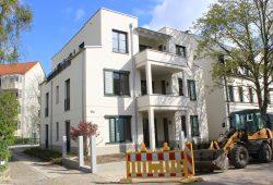 """Im Schillerweg haben die Mieter ihr neues Zuhause bereits bezogen. Foto: WG """"Lipsia"""" eG"""