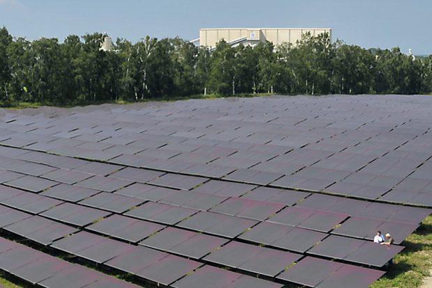Solarpark von Solverde. Foto: Matthias Weidemann