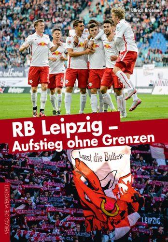 Ulrich Kroemers Buch zu RB Leipzig. Cover: werkstatt-verlag.de