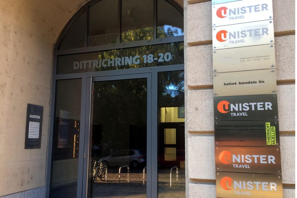 Unisters Bürozentrale in Sachen Reisen und mehr am Dittrich-Ring. Foto: L-IZ.de