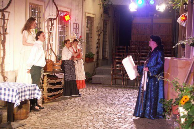 Theater fact: Die beiden Veroneser: Foto: Karsten Pietsch